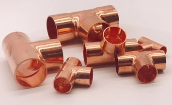 copper fittings tee manufacturers