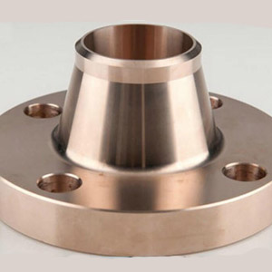Cupro Nickel Long Weld Neck Flanges Manufacturer